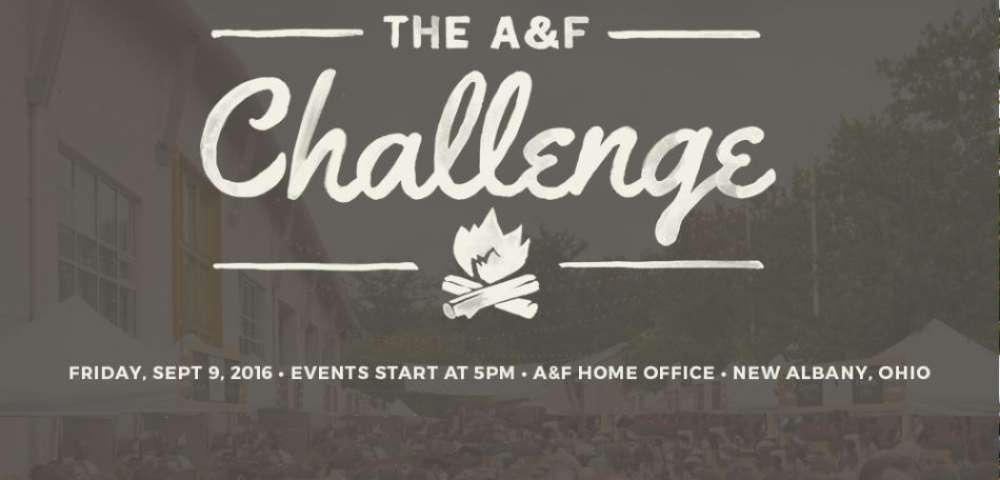 Join NSR for the A&F Challenge